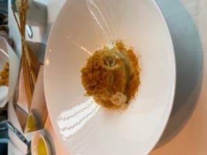 小さなヤリイカと雲丹のスパゲッティ